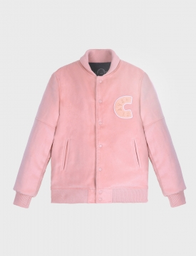 PLAYER STADIUM JACKET / pink