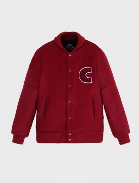 PLAYER STADIUM JACKET / burgundy