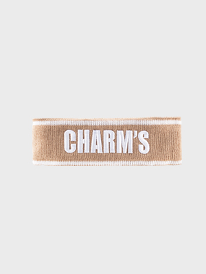 CHARM'S HAIR BAND / begie