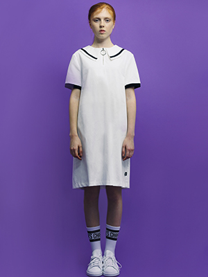 MARDY BUM DRESS_WH