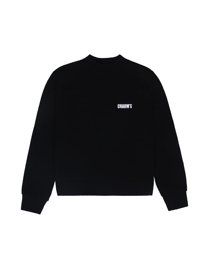 Basic small logo sweatshirt / BK
