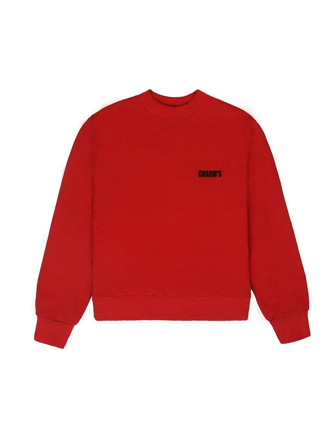 Basic small logo sweatshirt / RE