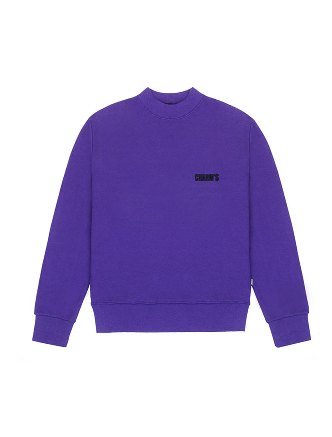 Basic small logo sweatshirt / PU
