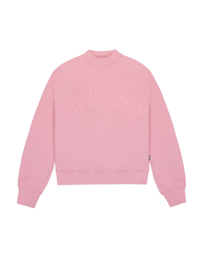 Half high neck sweatshirt / PK
