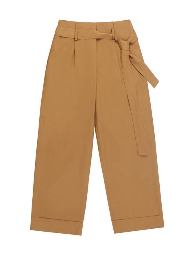 Classic cotton pants / BE