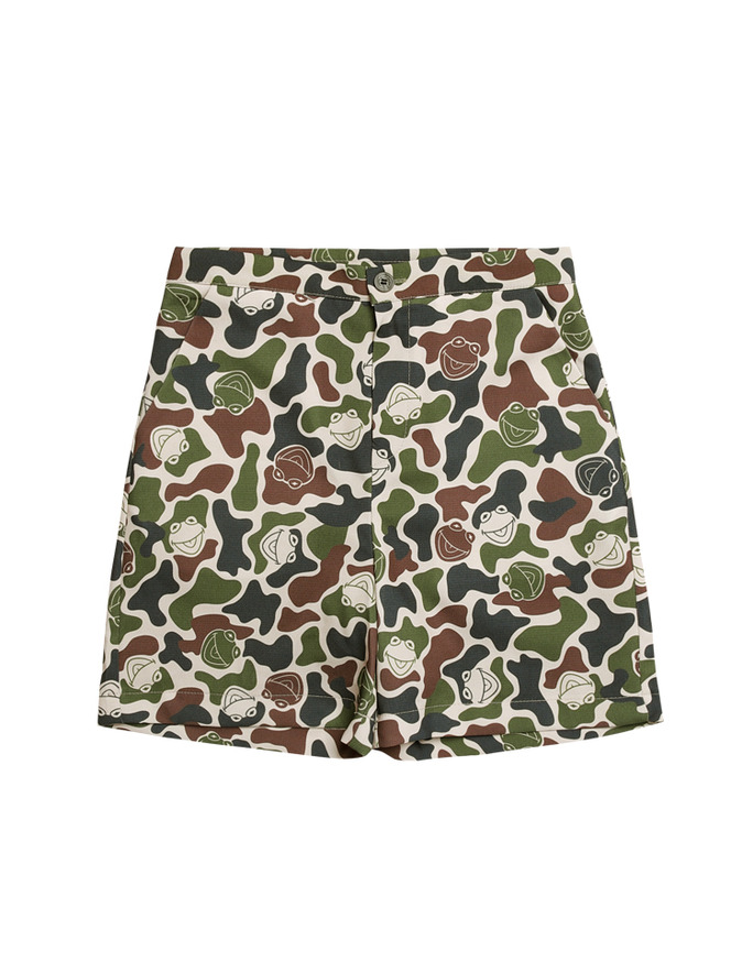 Kermit camo hawaiian pants_KA
