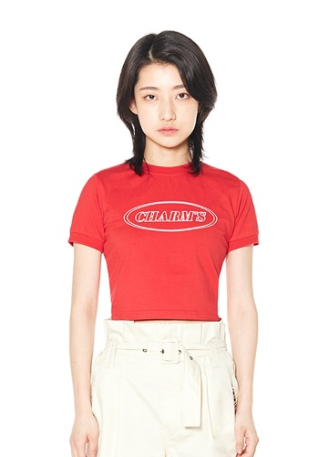 CHARMS LINE CIRCLE LOGO CROP T_RE