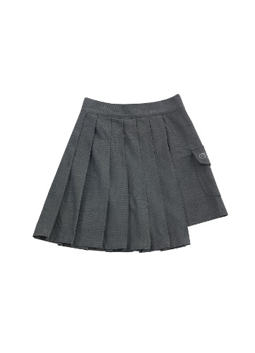CHARMS TECHNICAL POCKET SKIRT_GY
