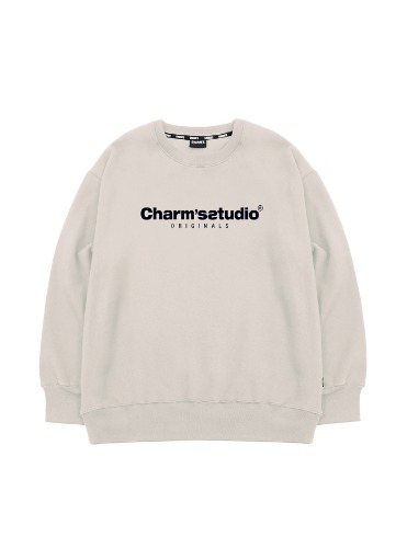 CHARMS STUDIO BASIC SWEATSHIRTS_BE