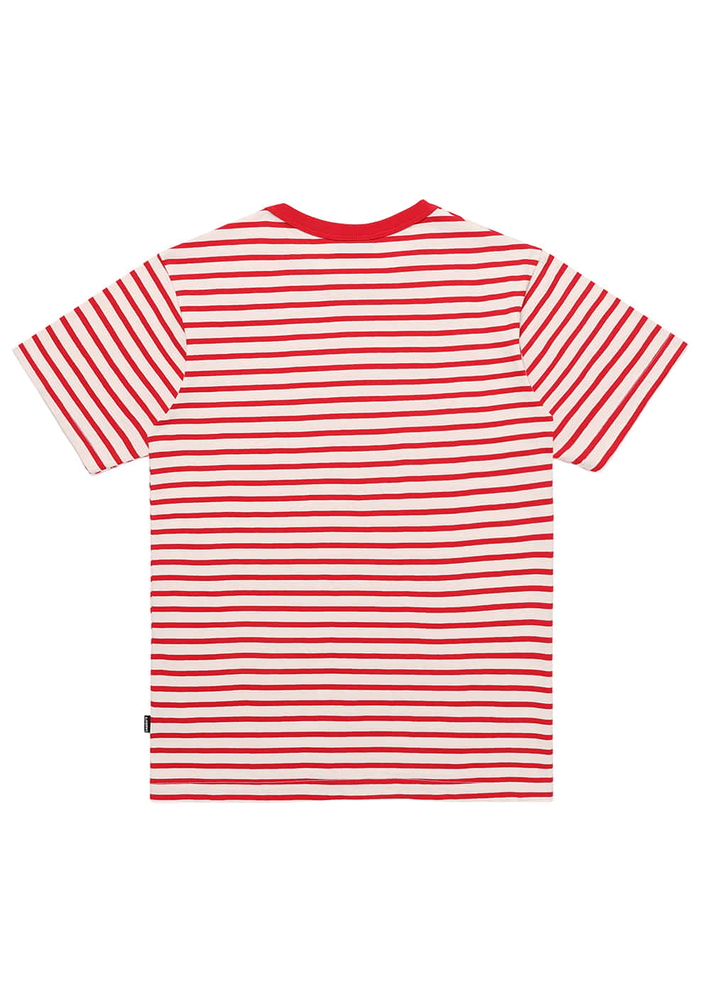 Heart Lip Logo Stripe T Shirts RE