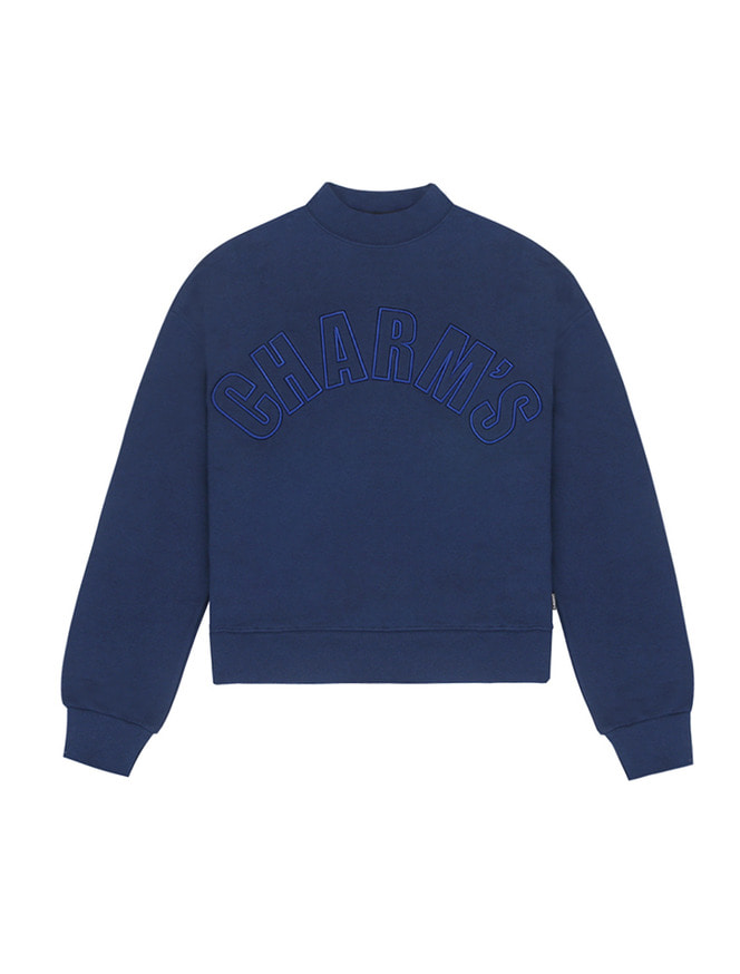 Half high neck sweatshirt / NV