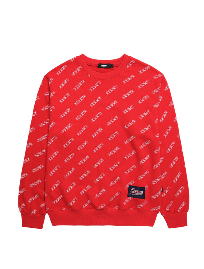 LOGO PATTERN SWEATSHIRTS_RE