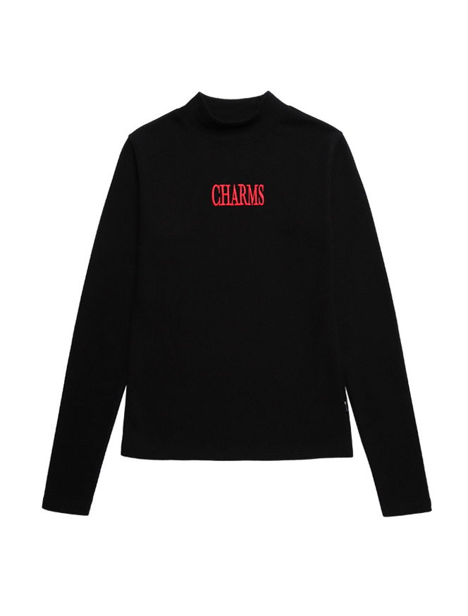 Gotic Logo Turtleneck_BK