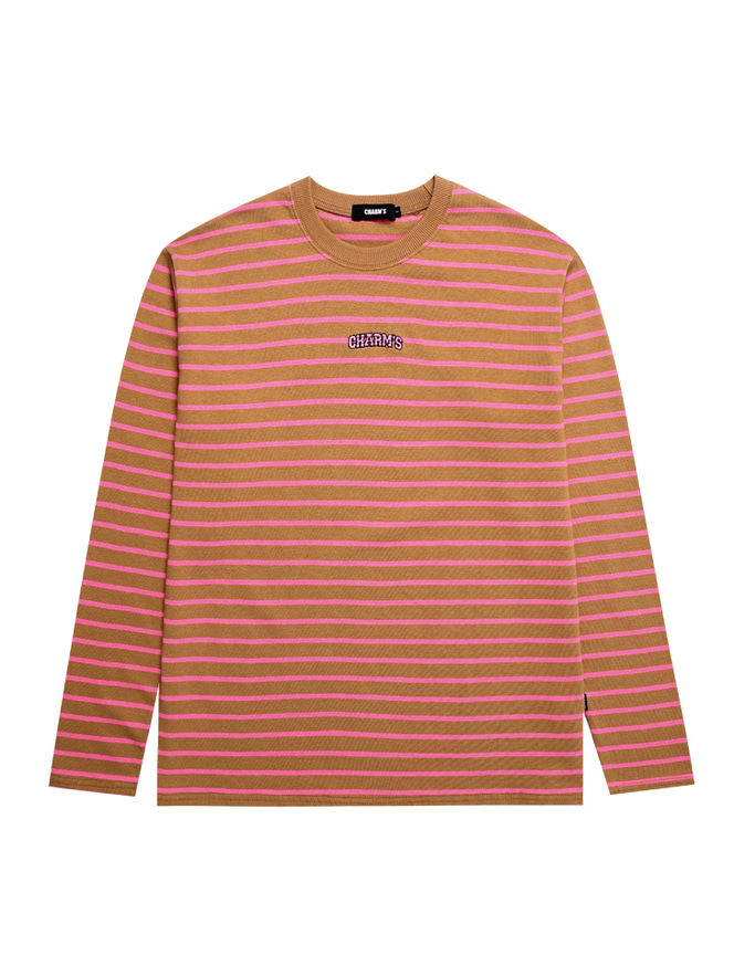 STRIPE SMALL ARCH LOGO T_OR