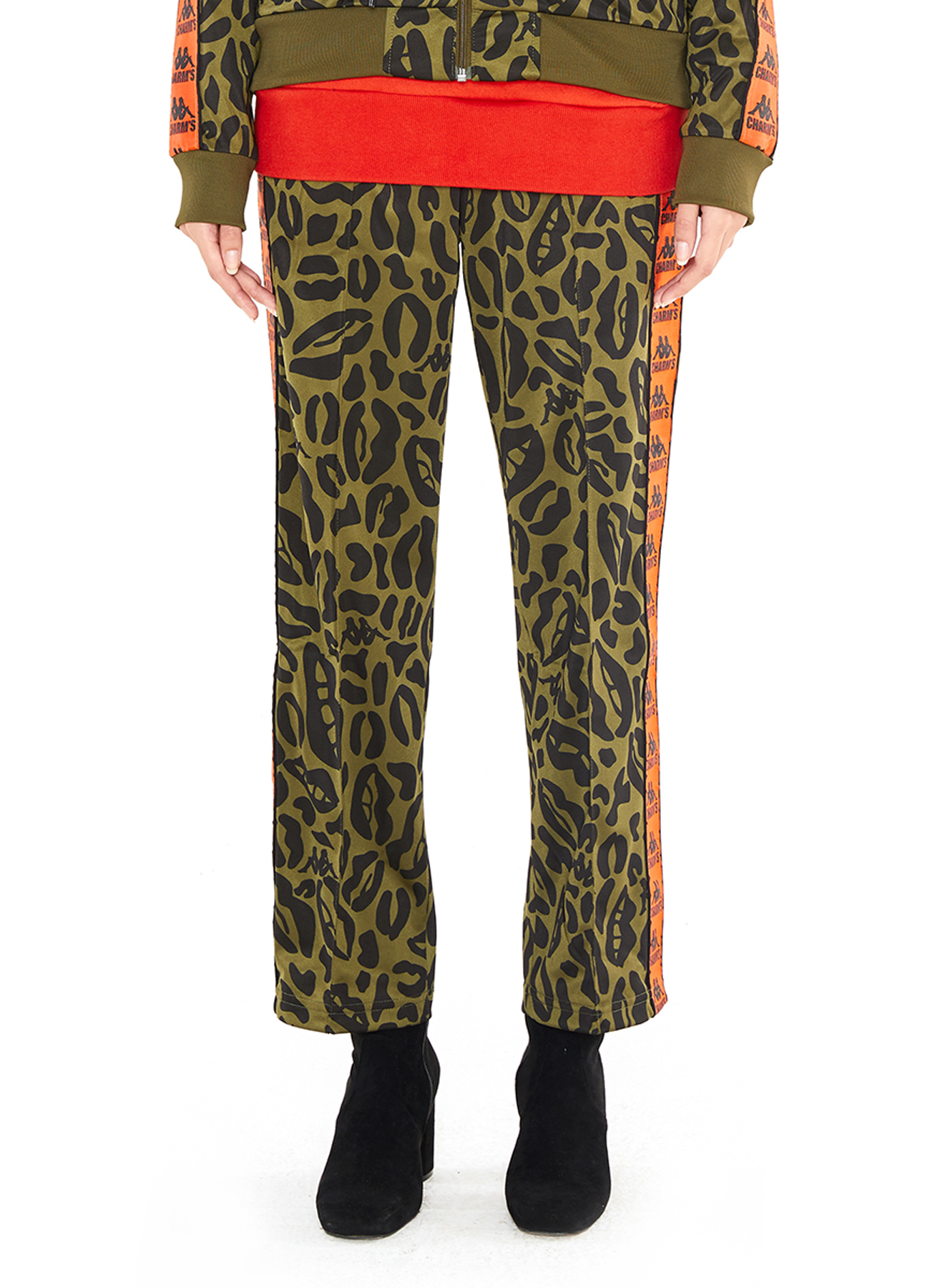 X Kappa Lip&Leopard Patten Training Pants_KA