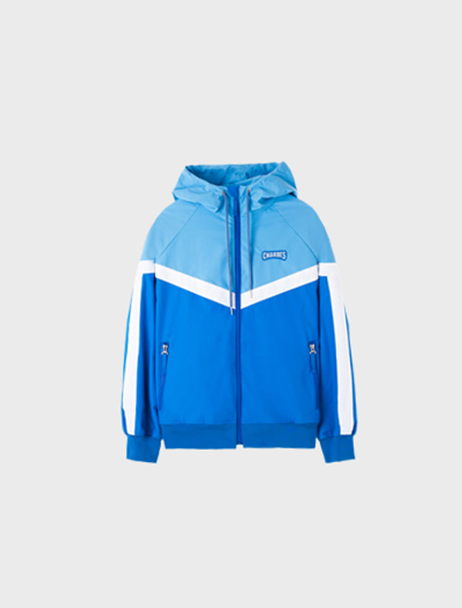 Logo Windbreaker / blue