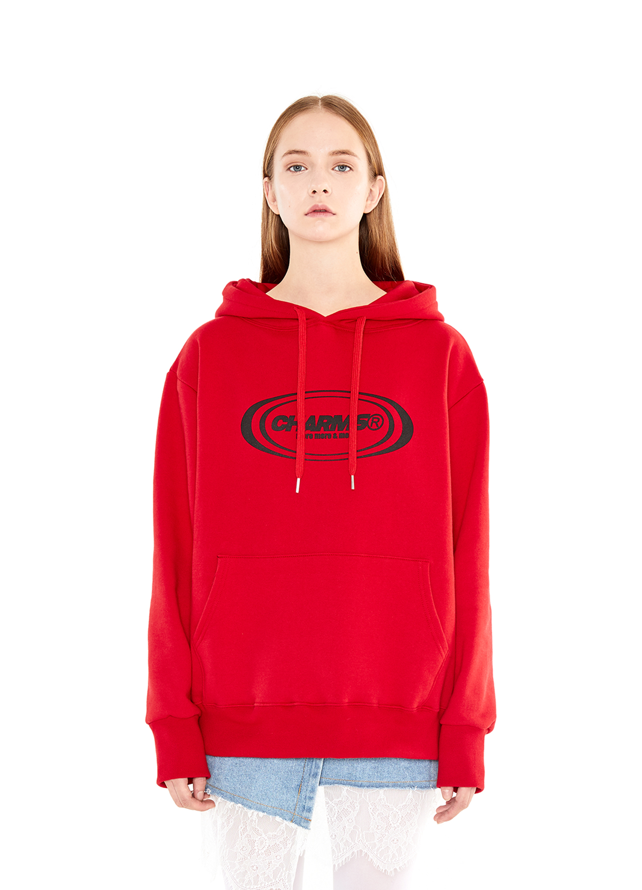CIRCLE LOGO HOODY_RE