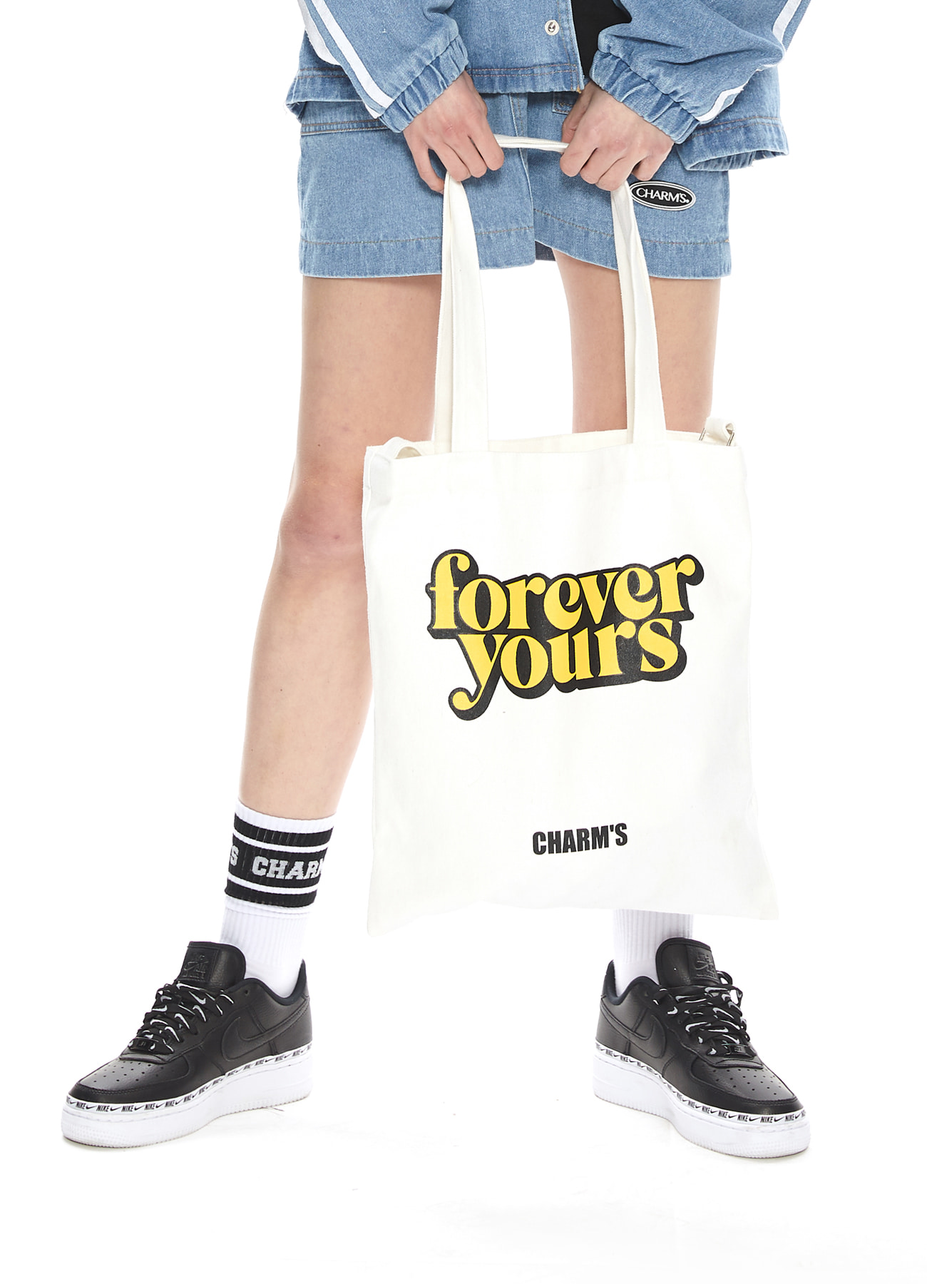 FOREVER YOURS BASIC LOGO ECO BAG_IV