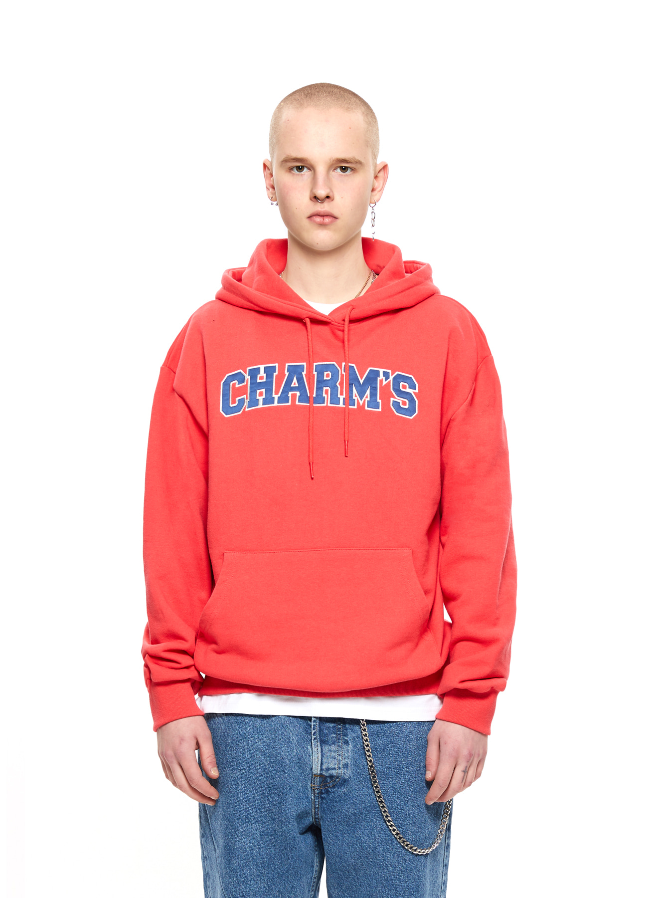 CHARMS BIG LOGO HOODY_RE