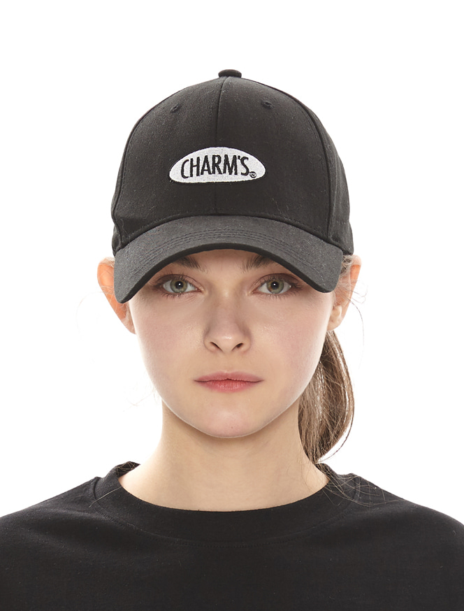 CHARMS CIRCLE LOGO CAP_BK