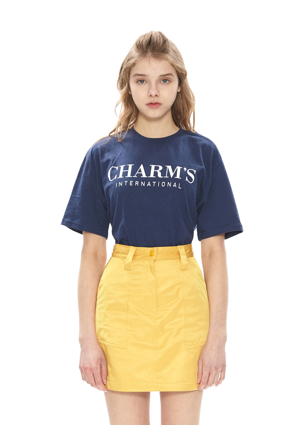 CHARMS BASIC LOGO T-SHIRTS_NV