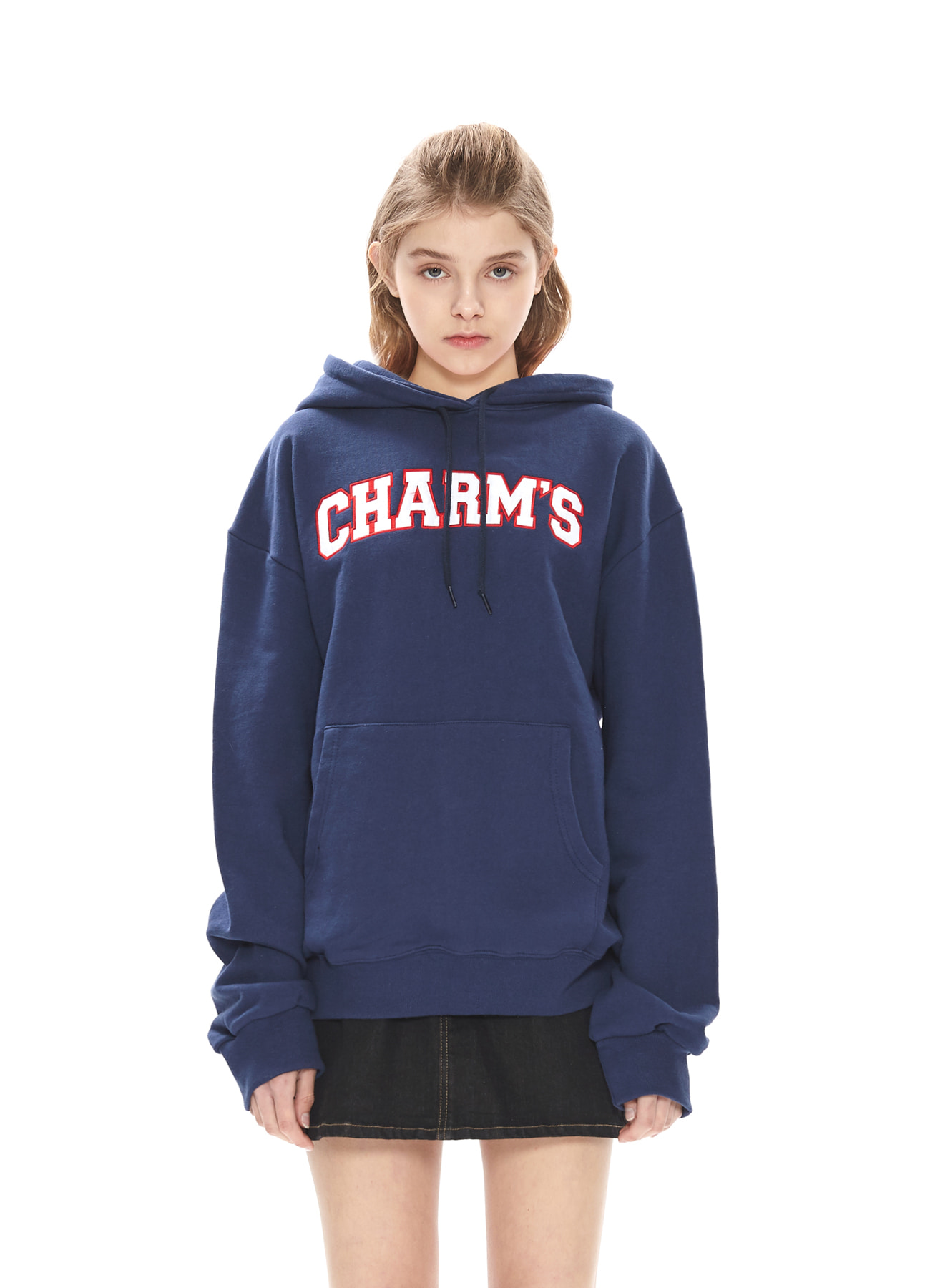 CHARMS BIG LOGO HOODY_NV