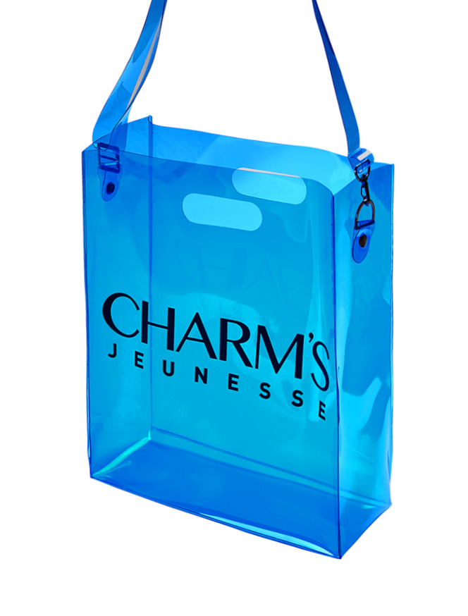 JEUNESSE X CHARMS  SIGNATURE Totebag_SKY BLUE