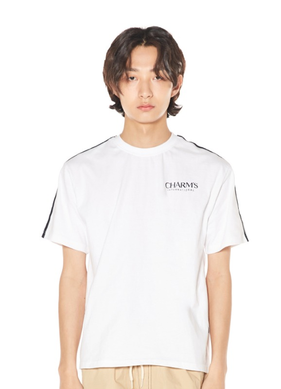CHARMS BASIC LINE T-SHIRTS_WH