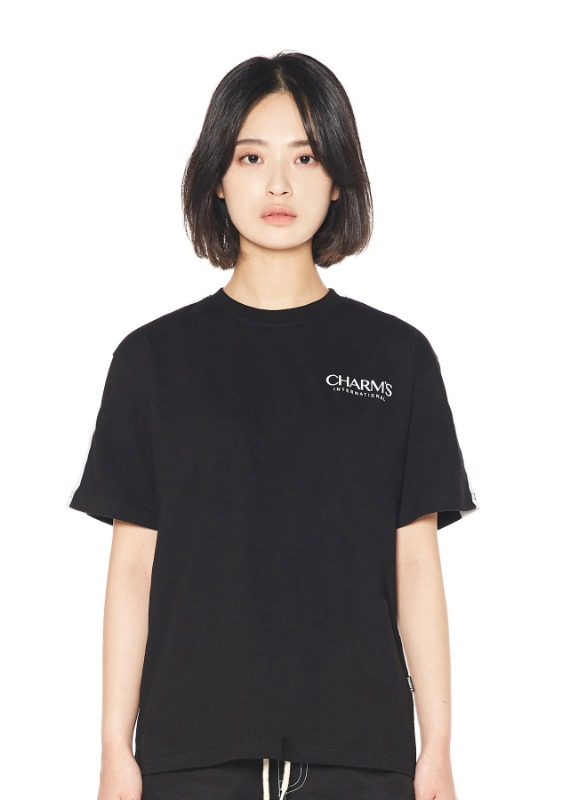 CHARMS BASIC LINE T-SHIRTS_BK