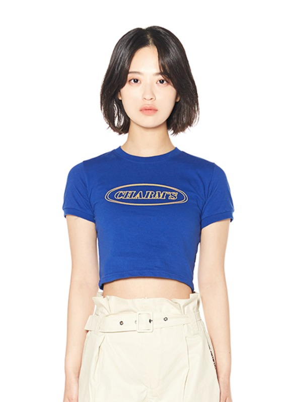 CHARMS LINE CIRCLE LOGO CROP T_BL