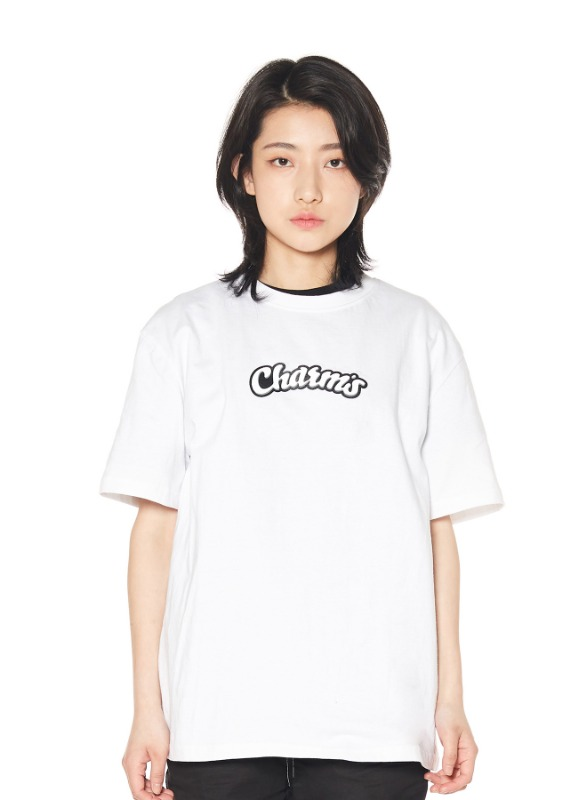 CHARMS ROLLING LOGO T-SHIRTS_WH