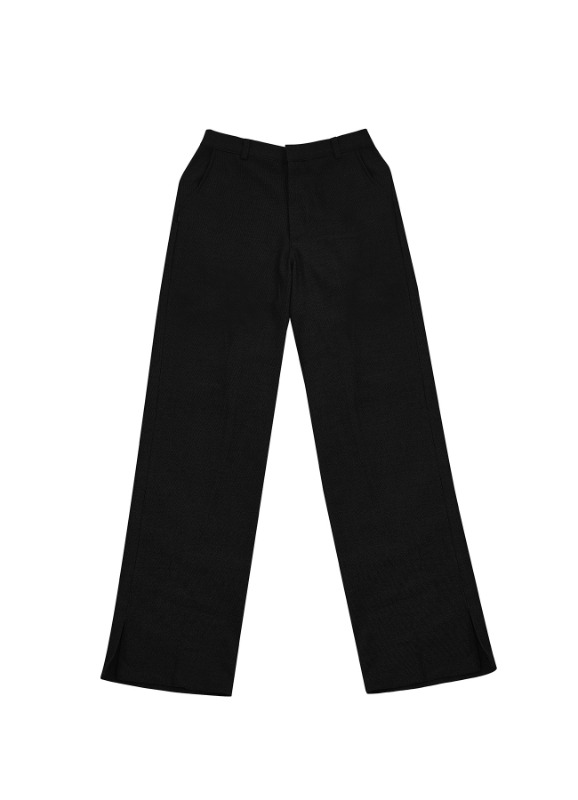 CHARMS TECHNICAL BASIC SLACKS_BK