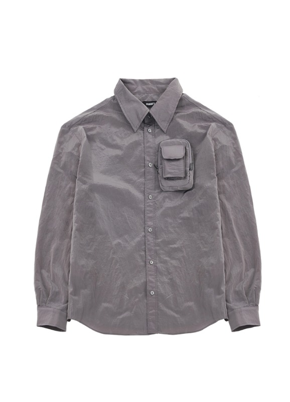 CHARMS NYLON POCKET SHIRTS_GY