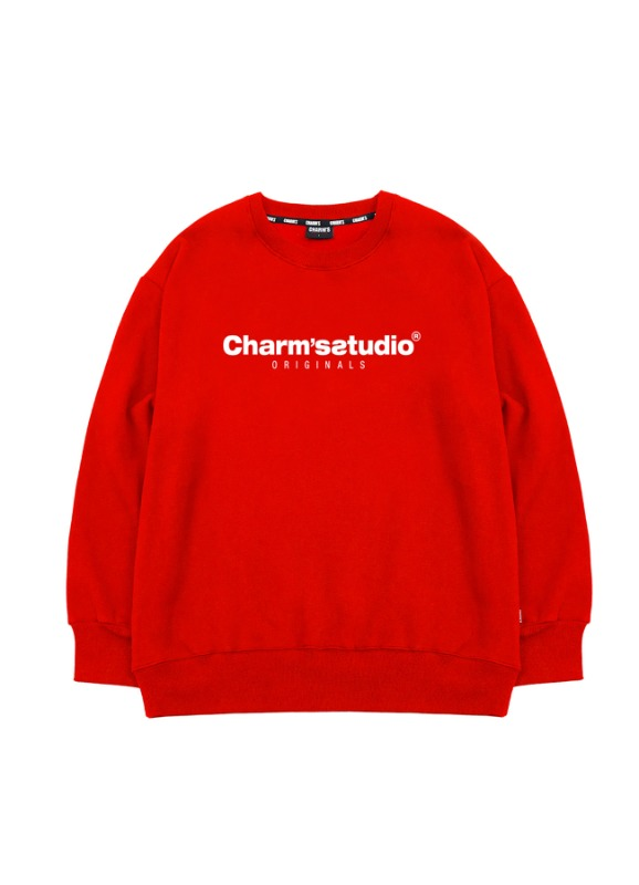 CHARMS STUDIO BASIC SWEATSHIRTS_RE