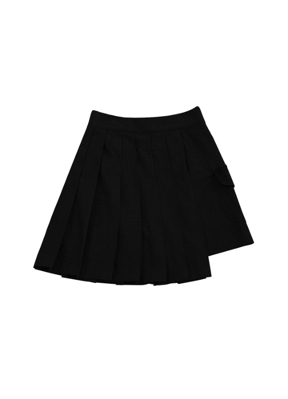 CHARMS TECHNICAL POCKET SKIRT_BK