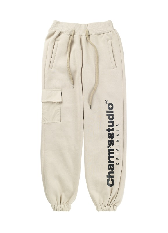 CHARMS STUDIO POCKET SWEATPANTS BE