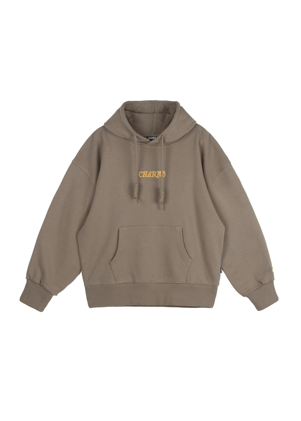 CHARMS WAVE LOGO HOODIE BR