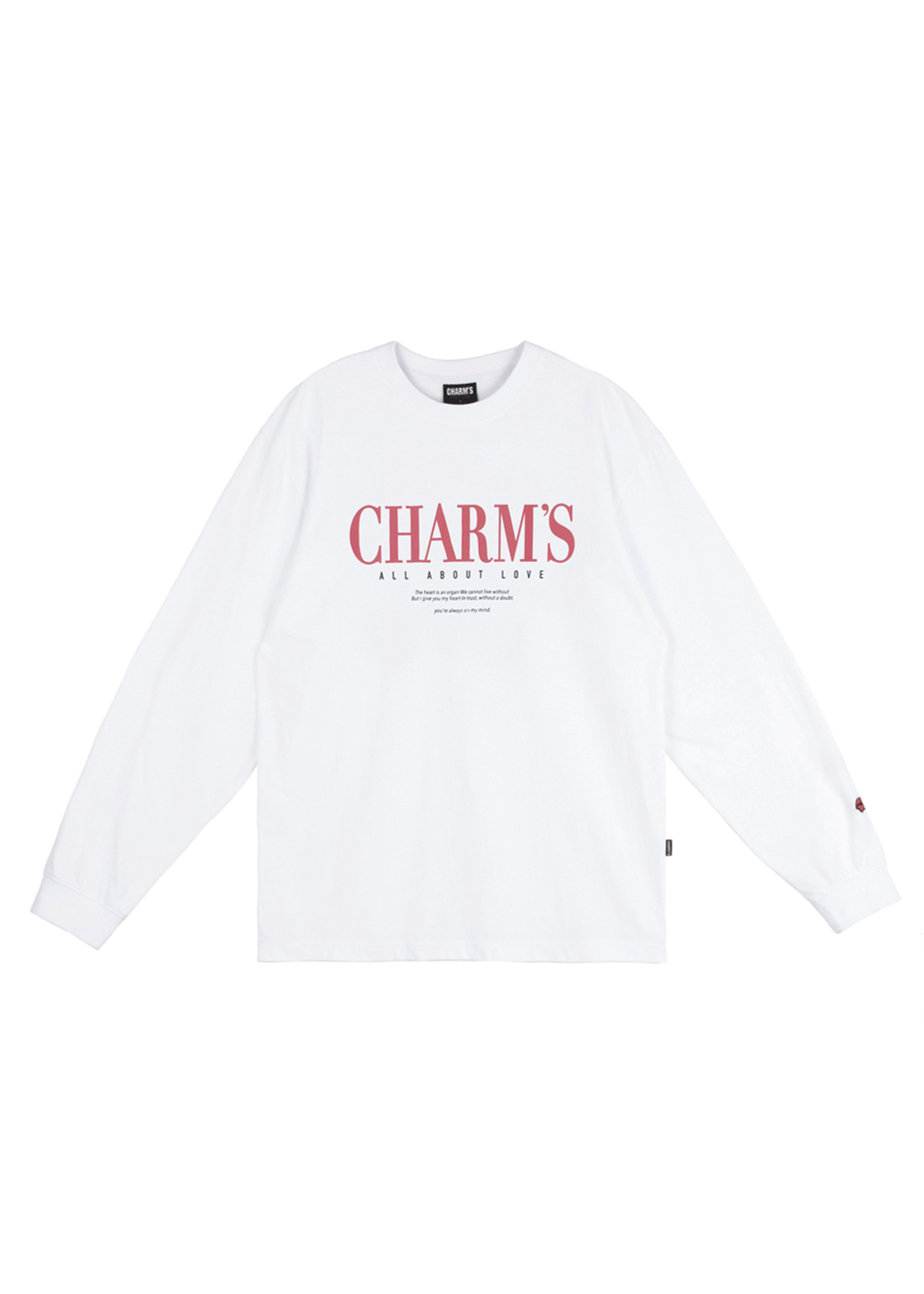 CHARMS GOTIC LONGSLEEVE WH