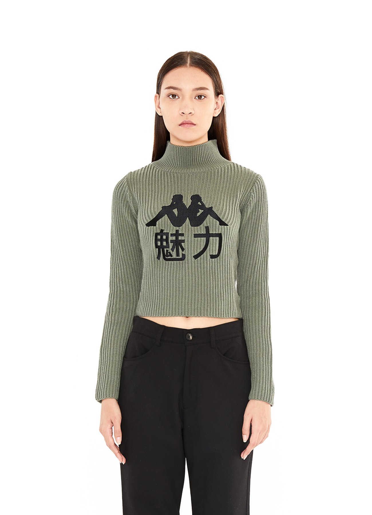 x Kappa 魅力 Turtleneck_KA