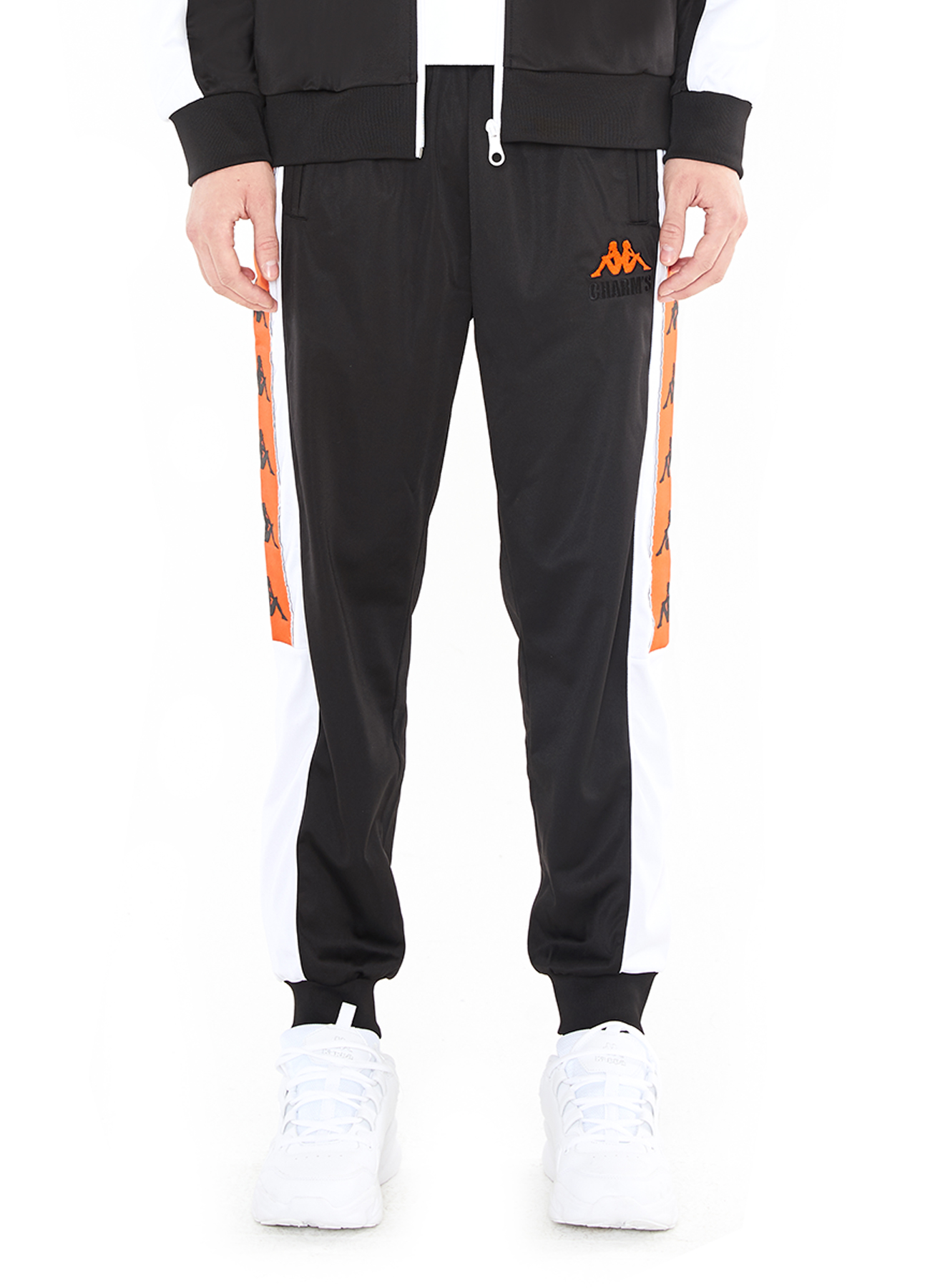 X Kappa Line Tape Training Pants_BK